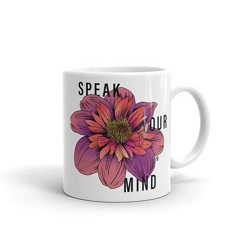 Speak Your Mind - Mug