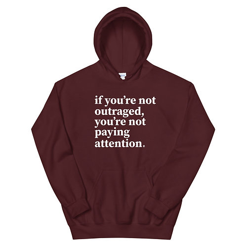 outraged - Unisex Hoodie