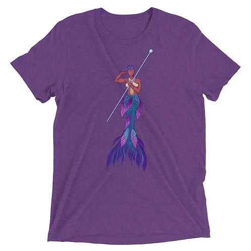 Merperson (medium tone) - Short sleeve t-shirt