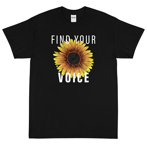 Find Your Voice - Short Sleeve T-Shirt