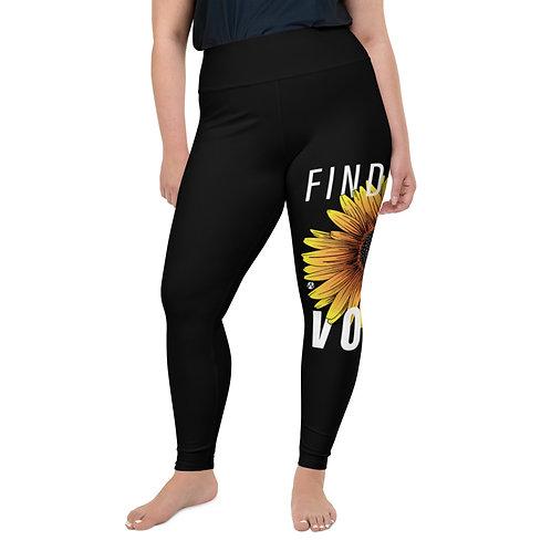 Find Your Voice - Plus Size Leggings