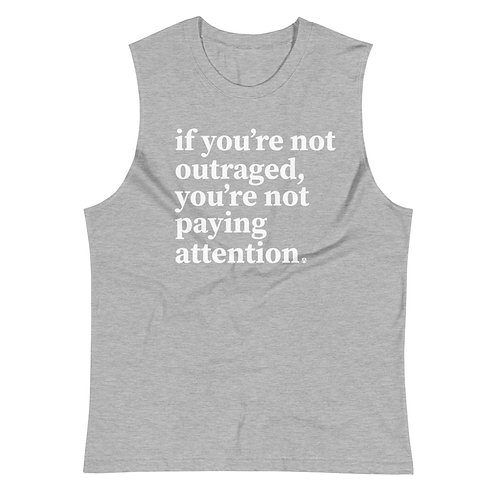 outraged - Muscle Shirt