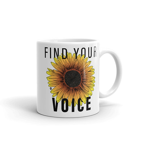 Find Your Voice - Mug