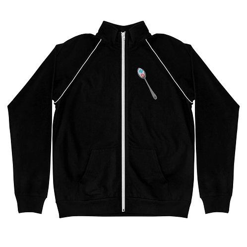 NO for Breakfast - Piped Fleece Jacket