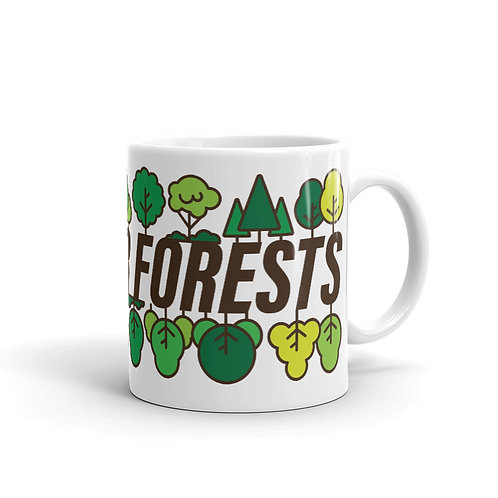 Save Our Forests - Mug