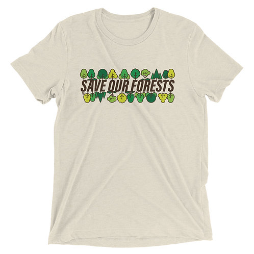 Save Our Forests - Short sleeve t-shirt