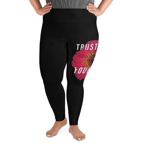 Trust Yourself - Plus Size Leggings