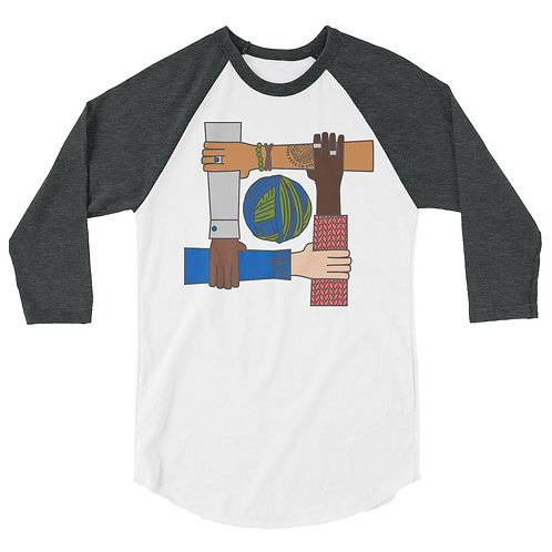 Stronger Together - 3/4 sleeve raglan shirt