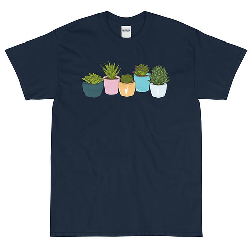 Succulents - Short Sleeve T-Shirt