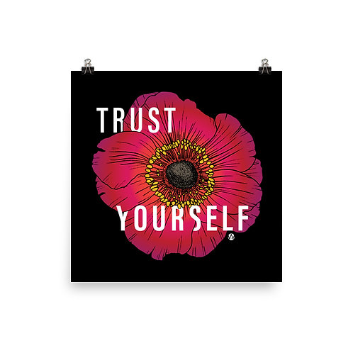 Trust Yourself - Poster