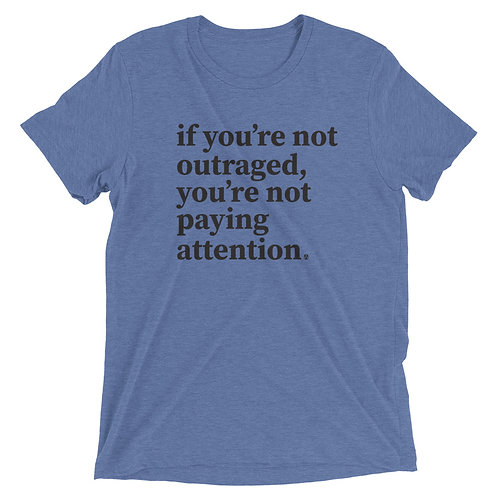 Outraged - Short sleeve t-shirt