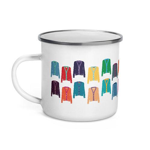 Sweater Weather - Enamel Mug