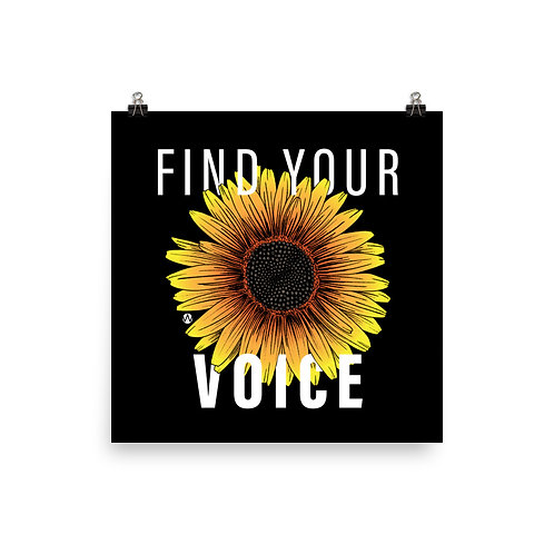 Find Your Voice - Poster
