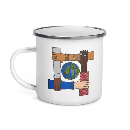 Stronger Together - Enamel Mug