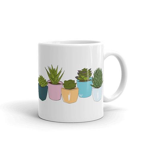 Succulents - Mug