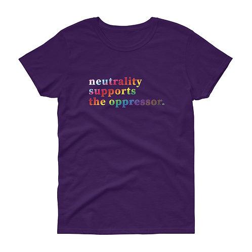 neutrality - Women's short sleeve t-shirt
