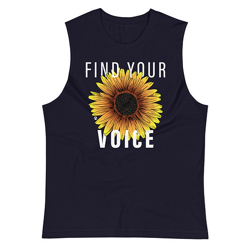 Find Your Voice - Muscle Shirt