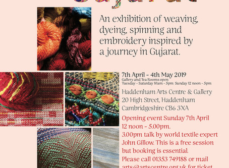 Colours of Gujarat: An exhibition of weaving, dyeing, spinning and embroidery
