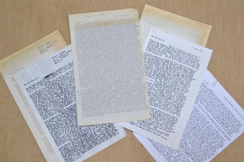Jerry Adams Letters