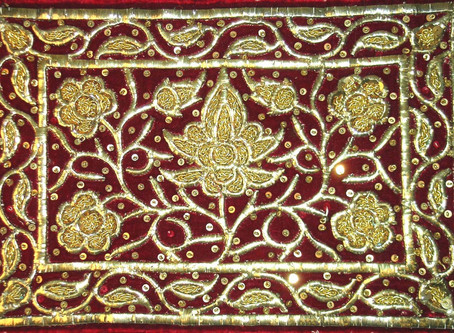 Malay Gold Thread Embroidery