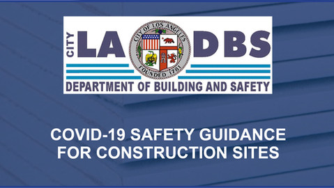 LADBS Construction Site Guidance