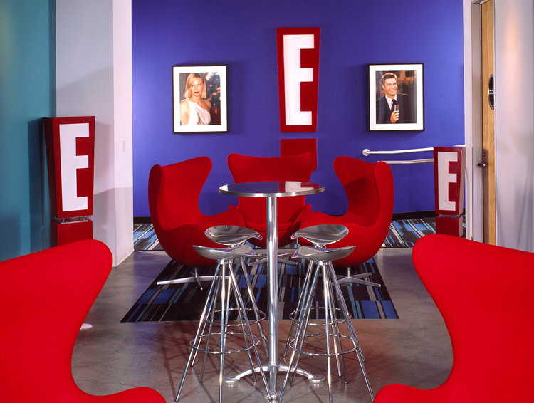 E! Networks Radio Studio