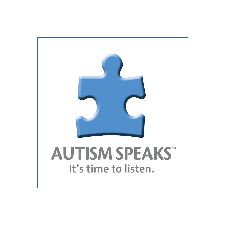 Autism Speaks - white box