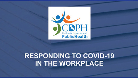 Responding to COVID-19 in the Workplace