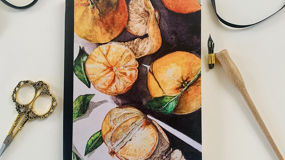 Deluxe 'Be my clementine' 2021 diary