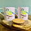 Thumbnail: 'Blue Bandit' set of two mugs
