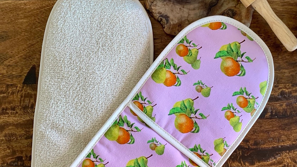 'What a pair' double oven gloves