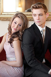 Dressed Up Teenage Couple on Couch.jpg