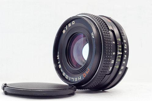 俄仔 Helios 81H (Arsat H) MC 50mm f2, Nikon Mount, 1994年蘇俄 (非常新淨)