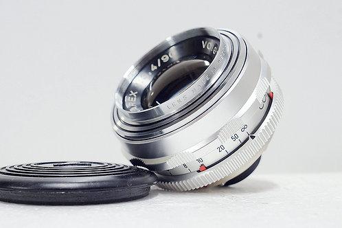 西德原福 Voigtlander Dynarex 90mm f3.4 DKL (90%New)