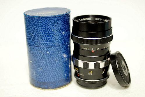 西德 ISCO Tele Westanar 135mm f3.5 (15葉版本, 90%New)