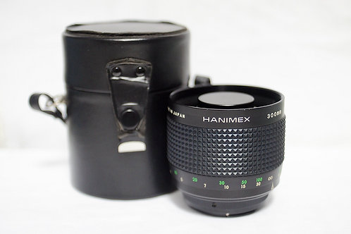 Reflex Mirror 反射鏡 Hanimex MC 300mm f5.6 (90%New)