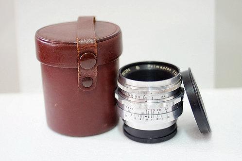 M42 旋散王 Meyer Primoplan 紅V 58mm f1.9, Germany (非常新淨)
