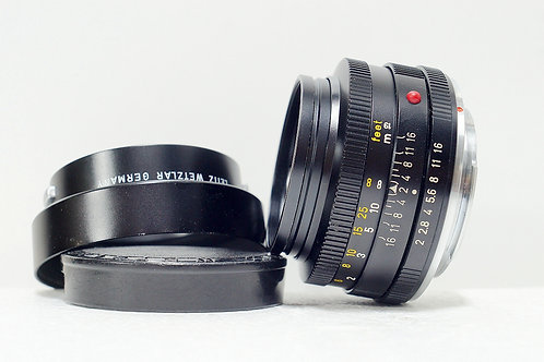 Leica R Leitz Summicron 50mm f2, Made in Germany (90%New)
