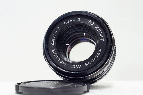 罕見八羽7代 Helios 44M-7 MC 58mm f2, 1993 USSR (90%New)