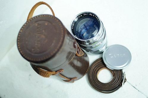 罕見20葉版本 Canon Serenar 85mm f2 早期黃銅鏡 (極新淨)