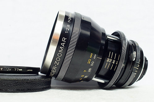 Voigtlander Kilfitt Zoomar 36-82mm f2.8, West Germany