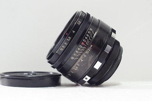 班馬版 八羽怪 Helios 44 2 58mm f2, 1970年USSR (非常新淨)