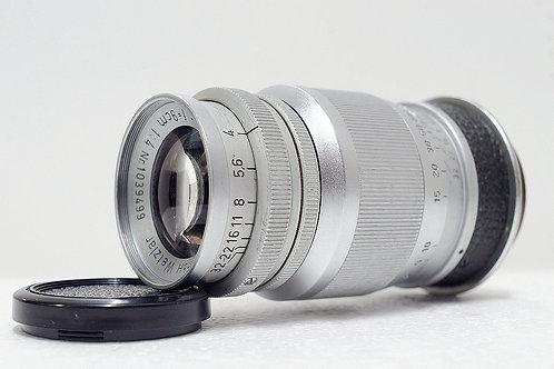 L39 Lecia Elmar 90mm f4, Made in 1952 Germany (非常新淨)