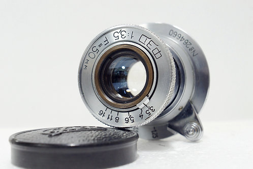L39 Industar-50 50mm 3.5 Made in 1950年代 USSR (非常新淨)