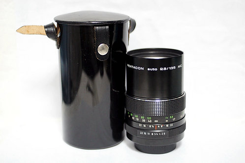 M42 Pentacon MC 135mm f2.8, Made in Germany (90%New)
