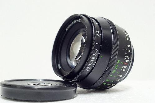 L39 Jupiter 8 Sonnar 50mm f2, 1987 Made in USSR (極新淨)