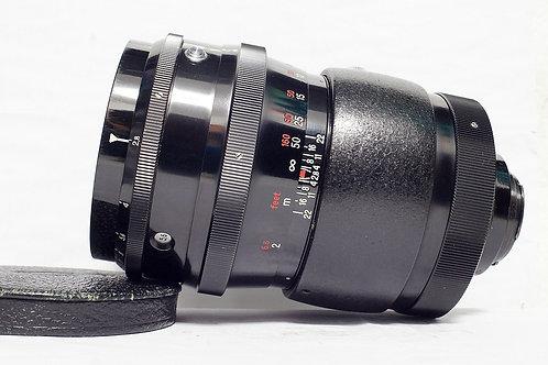 東蔡裏三寶戰前版 Carl Zeiss Jena 紅T Sonnar 180mm f2.8 (18葉,接近90%New)