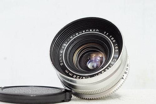 DKL 真水無香Schneider Curtagon 28mm f4 (非常新淨, 罕見0.6米近攝版)