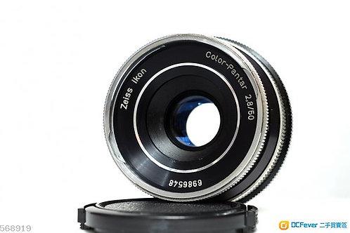 西蔡Icarex Carl Zeiss Color Pantar 50mm f2.8, Germany