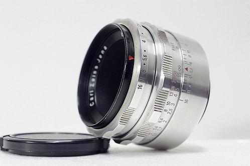 M42 東蔡鷹眼 Carl Zeiss Jena 1Q Tessar 50mm f2.8 (極新淨)